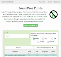 Fossil Free Funds