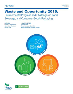 Waste And Opportunity 2015