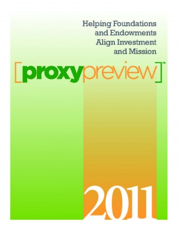 Proxy Preview 2011