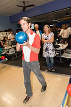 Andre Carothers, co-founder of the Rockwood Leadership Institute, takes to the lanes.