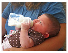 Infant formula and other nutrition products can contain GMOs, which have known health risks.