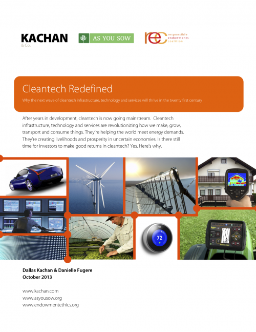 Cleantech Redefined Cover