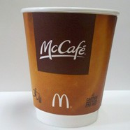 McDonald's cups will use paper instead of foam in the future.