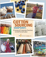 Responsible Sourcing Network's Cotton Sourcing Snapshot surveys company practices to end forced labor in their supply chains.